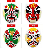 Wholesale s characters flocking Peking Opera masks chinese mask Changing Faces special props Face mask
