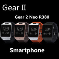 Wholesale DHL Shipping Gear Neo R380 LX36 BT Partner MP Camera MB GB Touch Screen Smart Watch Wristwatch for Samsung Galaxy S5 Note Note3