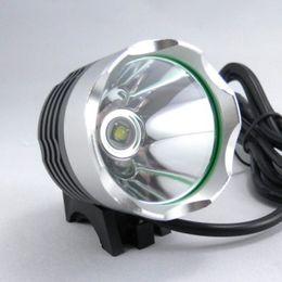 Wholesale CREE XML T6 LED Flashlight Bike Bicycle Light headLamp Modes Bike Light Bicycle Front Lamp HeadLight Battery Pack headband Charger