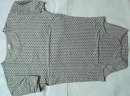 Wholesale Grey star Adult Baby Romper One piece Snap Closure Bodysuit ABDL