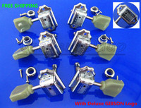 Wholesale New Chrome Guitar Parts R L Tuning Pegs Machine Heads Tuners With Deluxe Seal Printing Printed Signs