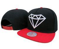 Wholesale Diamonds Snapback Baseball Cap Custom Snapbacks Hats Unisex Multi Color Choose High Quality Good Price