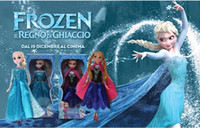 Wholesale 8 off CM Big adventure series Children s plastic doll Color box packaging doll FROZEN ANNA ELSA high quality DROP SHIPPING ZF