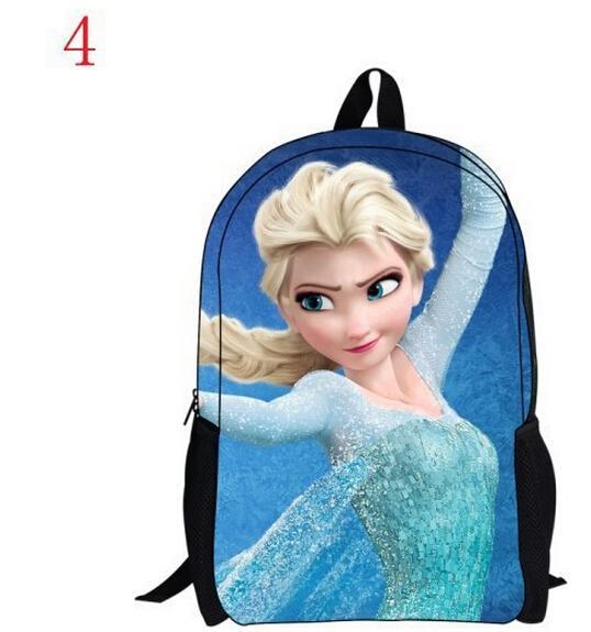 Frozen Anna Elsa Backpacks Children's School Bags Kids Cute ...