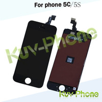 Wholesale Black White LCD Display Touch Screen Digitizer Full Assembly for iPhone S iphone C Replacement Repair Parts