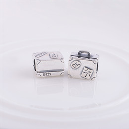 Wholesale 925 Sterling Silver beads jewelry bracelets Authentic New Handbag Charm Beads Compatible With Pandora Style Bracelet