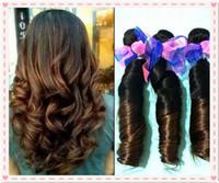 Brazilian Hair Romance curl Brazilian human hair HOT ! 8A Brazillian Hair Extension aunty Funmi Hair Spring Wave Two Tone Human Hair 1b #4 Ombre Brazilian Hair Products
