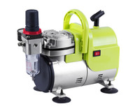 Wholesale AS18 FENGDA New Hight performance mini air compressor ideal for body tattoo cosmetic T shirt Painting Auto beauty
