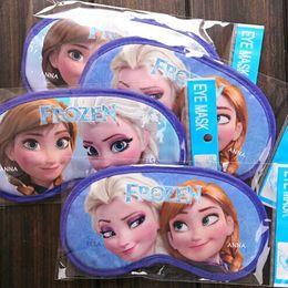 Wholesale Frozen Useful Travel Sleep Blinfold Eye Mask Sleeping Mask Blindfold Padded Sleep Aid Eye Cover Soft Travel Shade Frozen A100