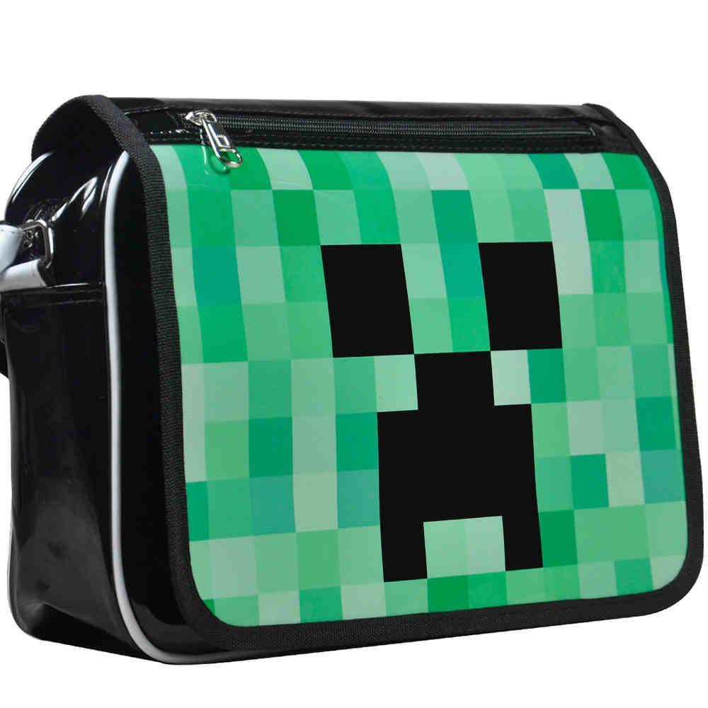 Retro Style Minecraft Shoulder Bag 19