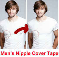 One Size mixed  Free Ship 40 Pairs 4.5cm Male Boy Men Nipple Cover Tape Beauty Bra Thin Adhesive Breast Nipple Cover Tape Instant Breast Lift Bra Tape