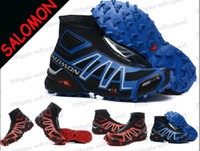 Men zapatillas salomon - 2014 New Zapatillas Salomon shoes Salomon snowcross Snow Boots Men s Ourdoor Sport Athletic Shoes Size