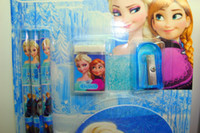 Wholesale Factory price Frozen Stationery Set for Students Office amp School Supplies Frozen Elsa Anna learning supplies Children Study Accessories
