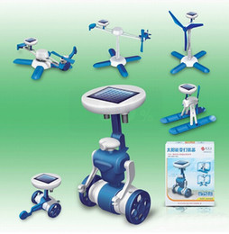 Wholesale SKU770 Generation III IN Educational DIY fancy originality solar assembling toys