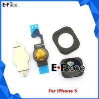 Wholesale V14162 Home Menu Button Key Cap Flex Cable Bracket Holder Spacer Set For iPhone G