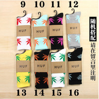 Unisex   New fashion HUF socks for men lovely hipop sock for boy free size socks for girl price 120pcs=60pairs Hot Free Shipping