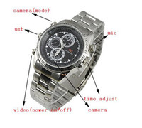 Wholesale Spy Watch Camera with Motion Detector DVR Motion Detect Cam Hidden Camera Action Camcorder with TF Crad Slot