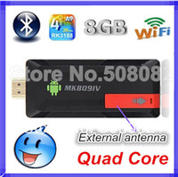 Wholesale MK809 IV Quad Core TV Box Stick Media Player Google Android RK3229 GB RAN GB WIFI P HDMI Smart TV Dongle MK809IV