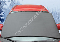 Wholesale New Car Front Window Visor Sun Shade Auto Windshield Snow Cover Picnic Blanket for Camping