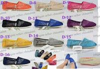 Wholesale 2014 Hot women s Classic comfortable Hollow out hook flower Sunflower Crochet Lovers shoe Flat casual canvas shoes pairs