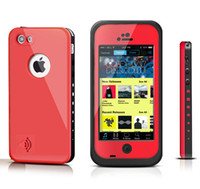 For Apple iPhone Plastic  redpepper red pepper Waterproof Shockproof Case For Iphone 4 4S 5 5S 5C Case Retail Packaging
