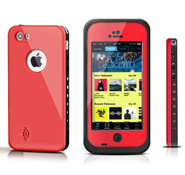 Wholesale redpepper red pepper Waterproof Shockproof Case For Iphone S S C Case Retail Packaging