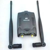 al por mayor las antenas omnidireccionales wifi-Nuevo adaptador libre de Wifi de la red inalámbrica del USB del receptor 48DBI 150Mbps del USB del poder más elevado 3000mw con la antena de Omni para el envío de la gota win10