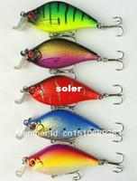 Wholesale 5pcs Minnow Fishing lures cm g plastic artificial fishing lure jerk bait pesca carp tackle crankbait swimbait wobbler
