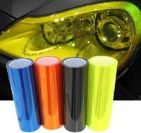 Wholesale Auto Car Smoke Fog Light HeadLight Taillight Tint Vinyl Film Sheet Car Sticker cm quot x m quot