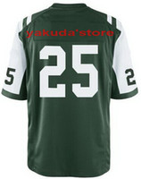 Football Men Short Wholesale 2013 New American #25 Green 2014 American Football Jersey,Sportswear Rugby Jersey Free Shipping,Mix Order