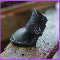 shoes for dogs - Hot sale colors Pet Dog Rain Booties Candy Fashion Rubber Waterproof Shoes JELLY SOFT RAIN BOOTS FOR DOGS