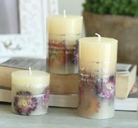 Wholesale Natural Daisy fragrance Aromatherapy candles Smoke Romantic ideas Birthday wedding wedding supplies election