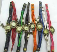 Wholesale 2014 new Designer women jewelry watches color cortical quartz owl pendant Cheap promotion bracelet watches