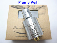 Wholesale Plume Veil Tug Boat Atomizer Tank Newest Innovative RDA Clearomizer For Electronic Cigarette E Cigarette Mods DHL