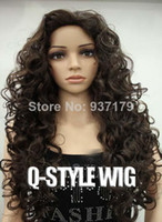 afro wigs - Kinky curl coarse Italian wave hair wig variety of instant noodles small micro waves corn hair wig harsh fluffy afro wigs for black women