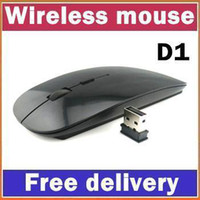 Wholesale SH G Wireless Ultra Thin Optical Mouse White for Laptop Notebook