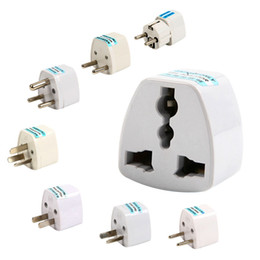Wholesale Universal Europe USA Austrilia to US UK AU EU Travel AC Power Plug Adapter ZH001