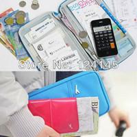 Wholesale MN Passport Credit Card Holder Pouch Travel Case Wallet Bag Ticket Holder