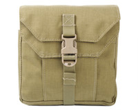 Wholesale 5 Colors Airsoft Tactical D Nylon Molle Fight Multifunctional Pouch Military First Aid Kit Medical Tool Accessories Pouch