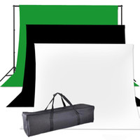 Wholesale Photography Photo Studio x3 M Muslin cotton Backdrop Background Support Stand Kit