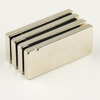 Wholesale mm x mm x mm Strong Block Cuboid Neodymium Magnets N35 Rare Earth