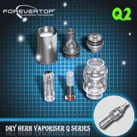 Wholesale Forevertop manufacturer q2 water vaporizer q2 tank dry herb vaporizer with high quality original