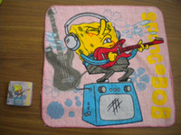 Wholesale 2014 popular cotton customized magic cartoon towel for travell
