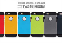 Wholesale 2014 NEW SLIM ARMOR TOUGH ARMOR SGP Case For iPhone S GPhone Bags Hard Back Cover Luxury TPU Plastic Cases For iPhone inch