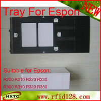Wholesale PVC Smart EM ID inkjet Printing Card Tray For Espon Printer R200 R210 R220 R230 R300 R310 R320 R350 inkjet Card