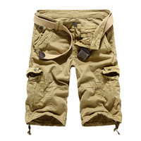 Wholesale New Autumn summer Fashion for men Military Training camo cargos shorts Outdoor Camouflage cargo mens the short pants K508