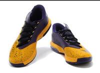 Inexpensive Nike Zoom KD 6 Basketball Shoe N7 Blue Black Red