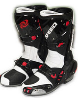 motocross boot - New B1003 motorcycle boots Pro Biker SPEED Racing Boots Motocross Boots Motorbike boots wh12 SI