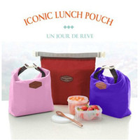 Wholesale 2016 new Travel Outdoor Lunch Carry Bag Picnic Tote Container Cooler Insulated Thermal Waterproof Organizer Dinnerware Tool