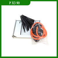 Wholesale In stock x3 Disc Exercise Fitness DVD with Workout Resistance Band guide book Retail Box Base Kit